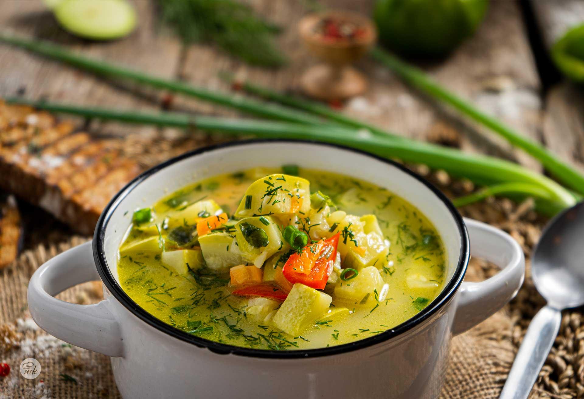Супа от тиквички и моркови
