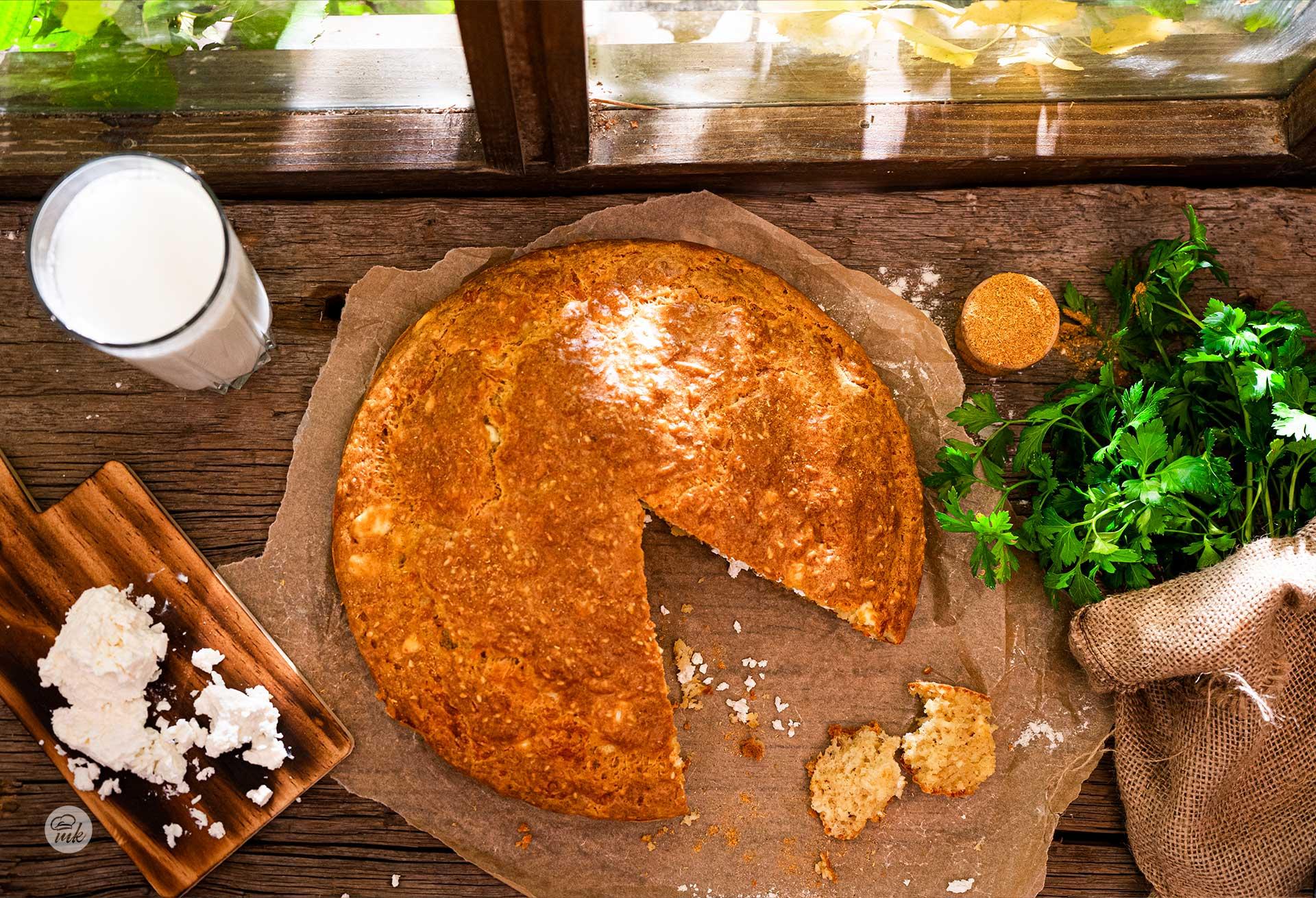 Солен кекс със сусам