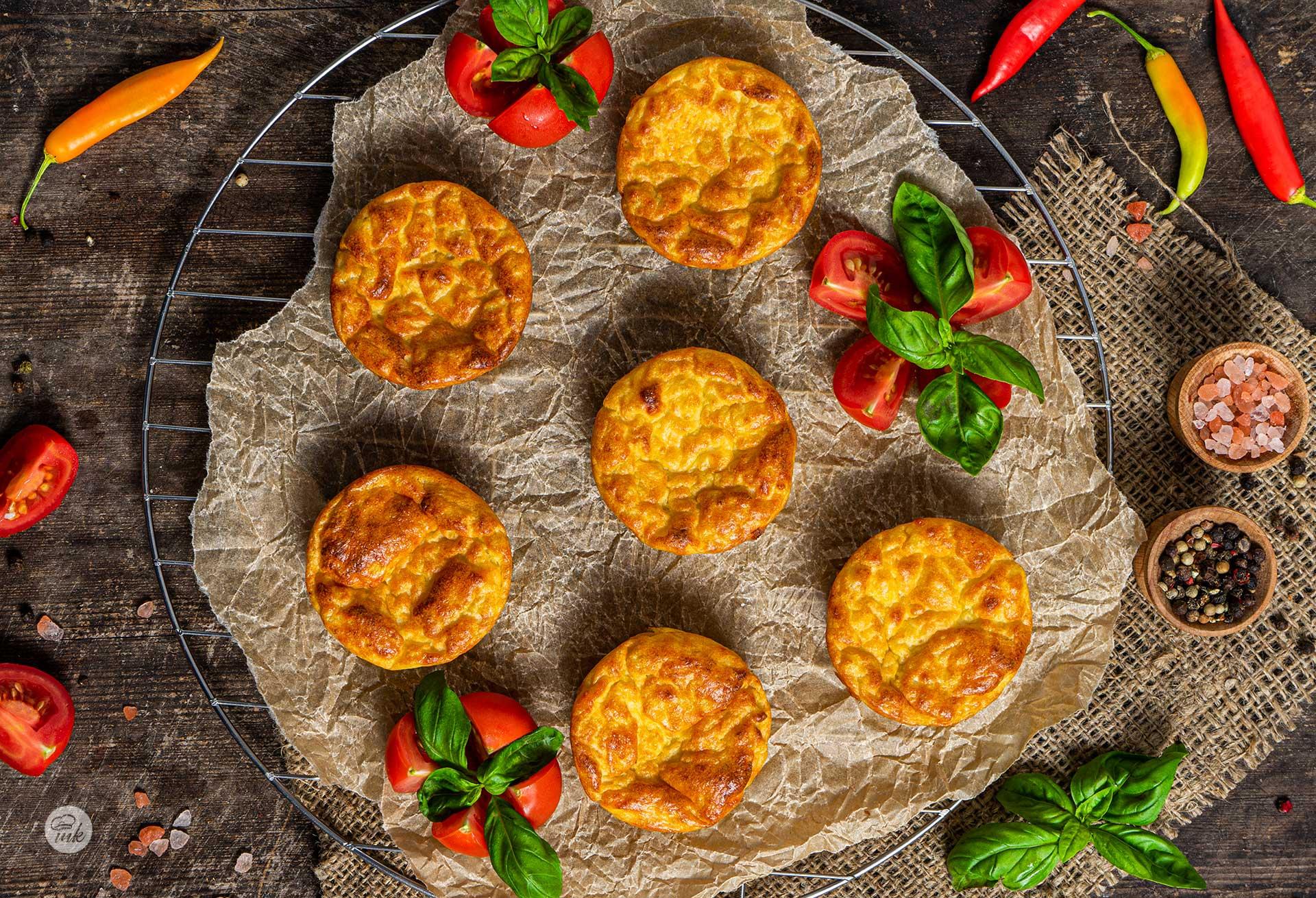 Картофени кексчета със сирене