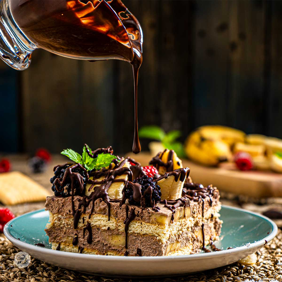 Торта полята с каничка кленов сироп