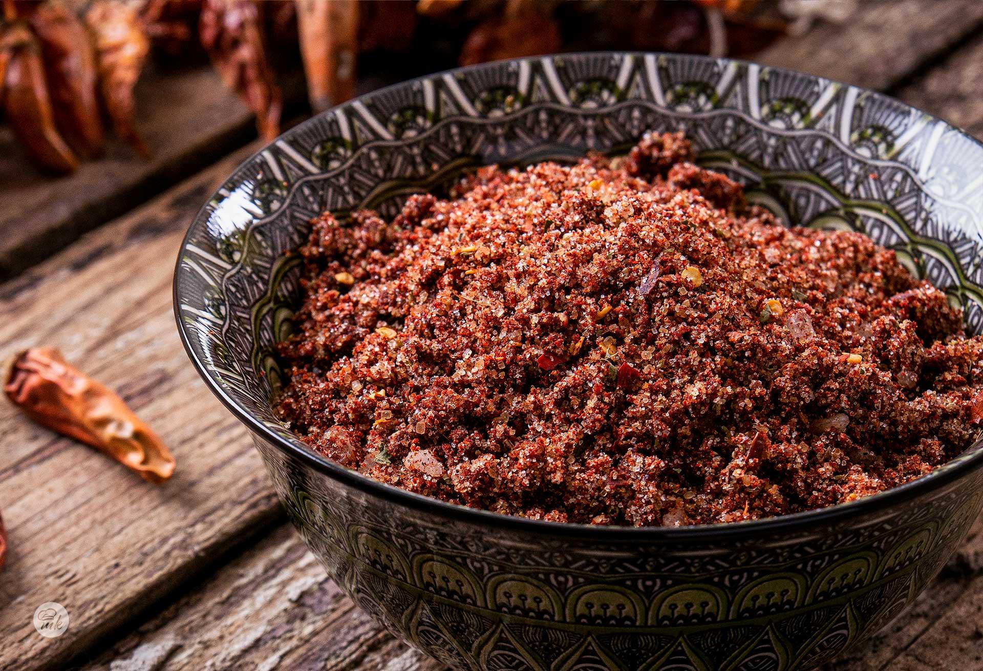 суха лютива марината за свинско