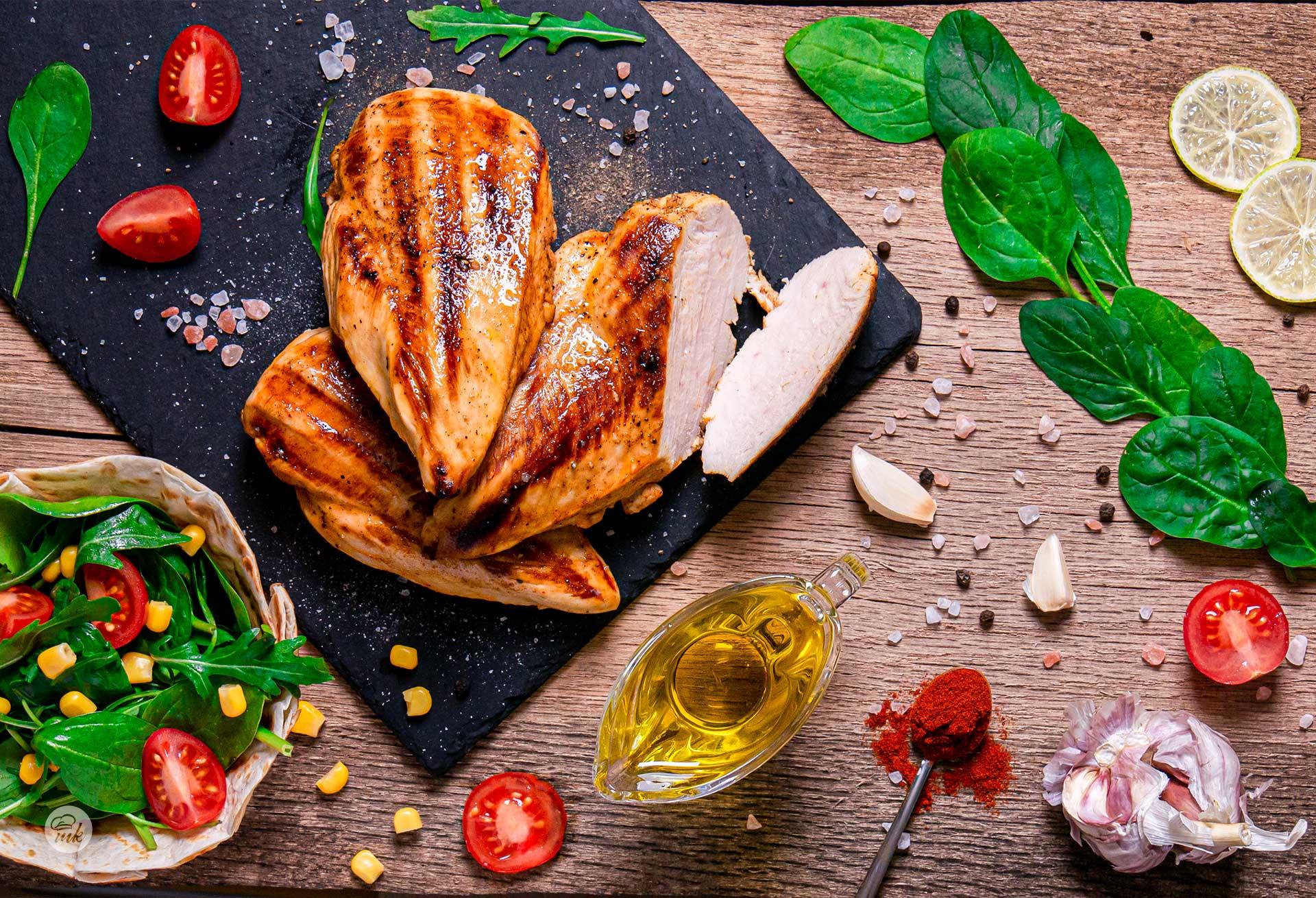 Пилешко с лайм и текила