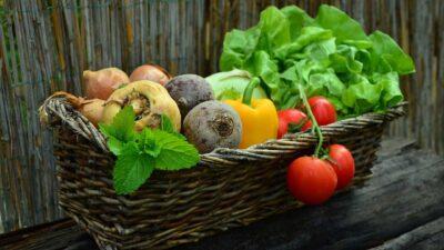 Зеленчуци в кошница