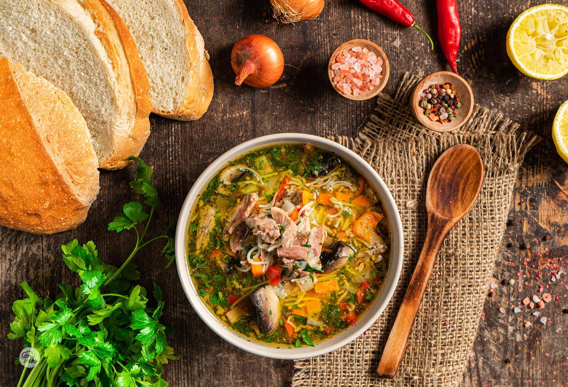 Бистра патешка супа