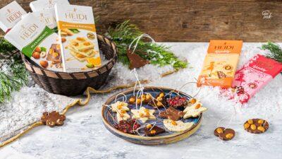Шоколадови играчки за елха с шоколади Heidi
