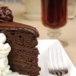 Парче шоколадова торта за статия за застрашените от изчезване храни