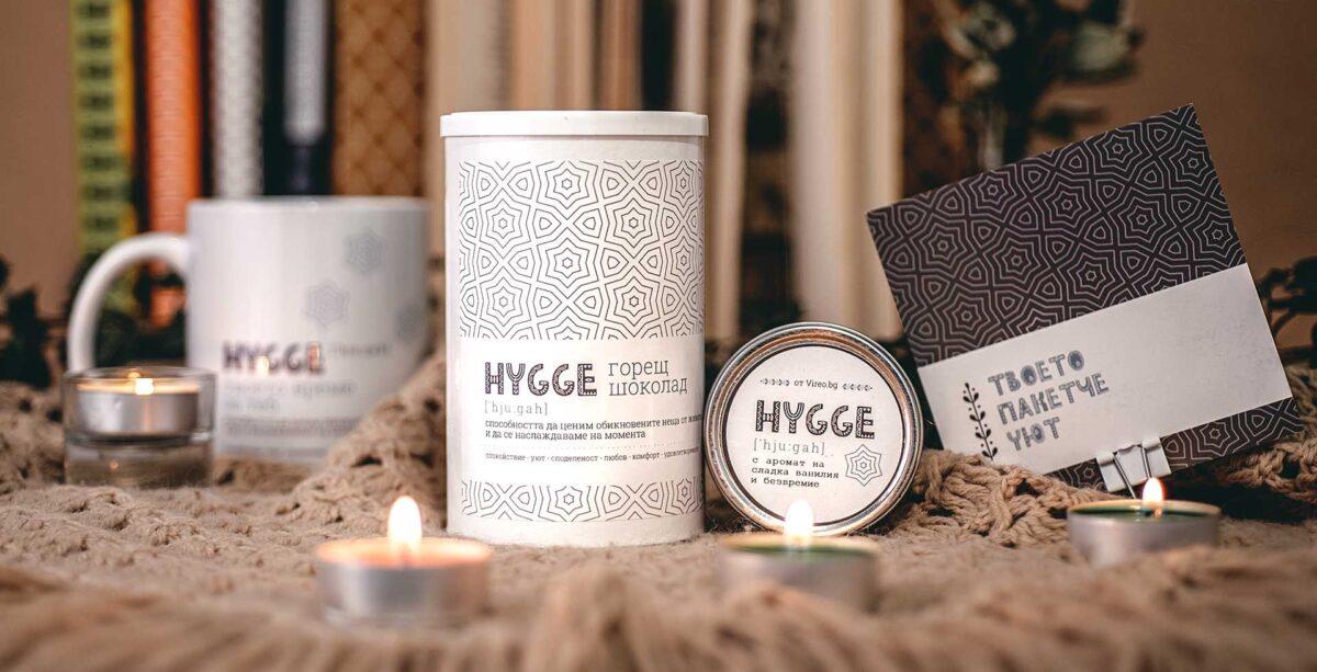 Комплект горещ щоколад Hygge със свещи и чаша