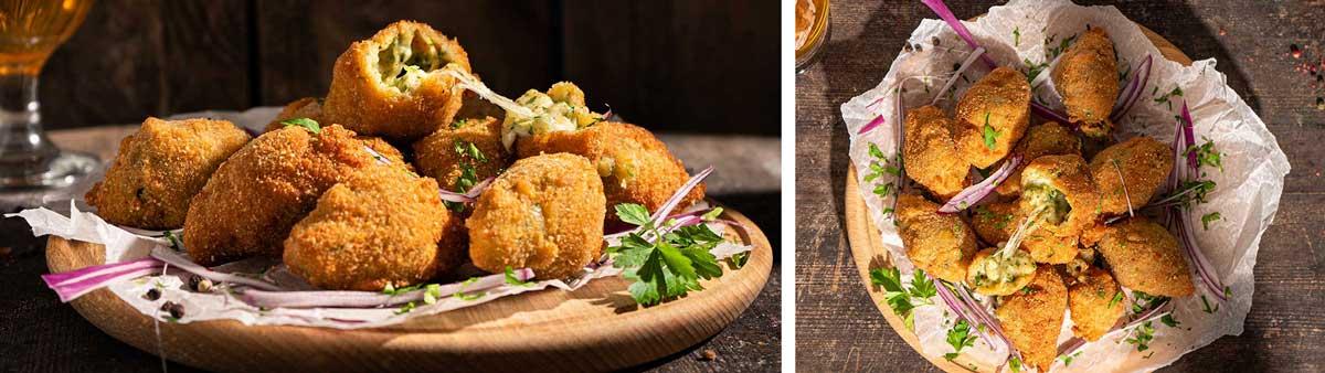 Рецепти с кашкавал: Кашкавалени крокети