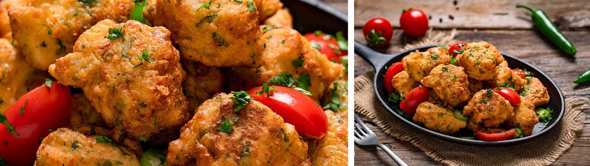 Рецепти с кашкавал: Пилешки хапки