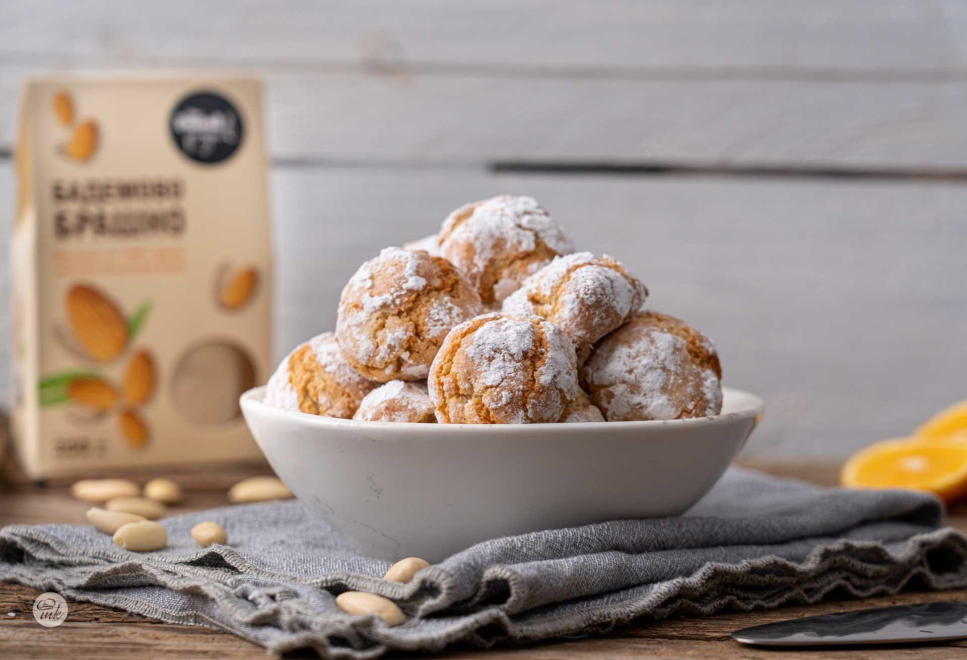 Италиански бадемови сладки с лимончело