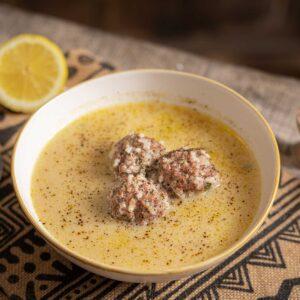 Купичка със супа топчета с лимон към рецепта за супа топчета с лимон