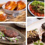 Колаж от 5 изображения на храна